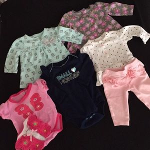 Other - Bundle of baby girl clothes